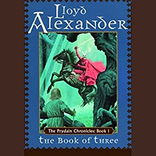 The Book of Three     The Prydain Chronicles, Book 1              By:                                                                                                                                 Lloyd Alexander                               Narrated by:                                                                                                                                 James Langton                      Length: 5 hrs and 3 mins     673 ratings     Overall 4.4