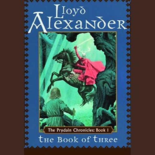 The Book of Three audiobook cover art