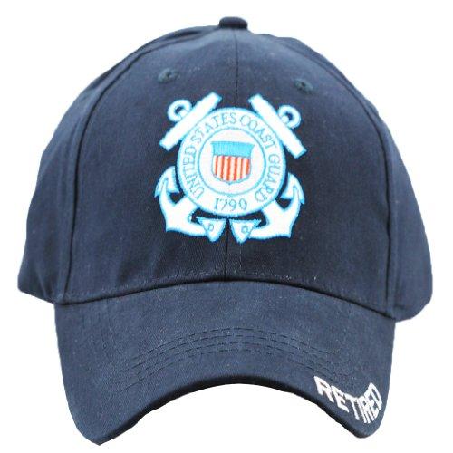 US Coast Guard Retired Cap United States Coast Guard Military Hats Men and Women Blue