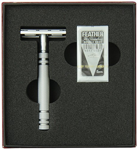 8. Feather All Stainless Razor