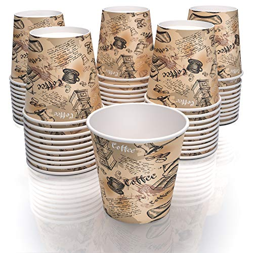 4 oz paper cups for coffee tea and water - decorated paper cups Florida