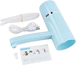 Nimoa Waterpomp Dispenser, Draadloze Oplaadbare Fles Drinkwater Elektrische Pomp Draagbare Drinkware Dispenser USB (Blauw)