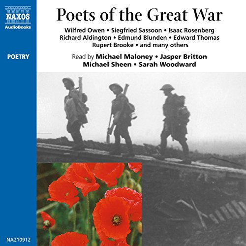 Poets of the Great War audiobook cover art