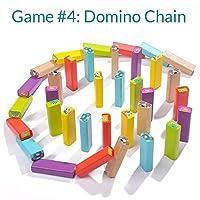 Nene Toys - Torre Magica Colorata in Legno con Animali – Gioco Educativo da Tavolo per Bambini - Gioco Didattico 4 in 1 per Bambini da 3 a 9 anni – Giocattolo Ideale come Regalo per Genitori e Figli #5