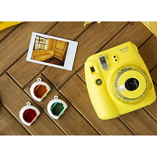 Fujifilm instax Mini 9 Kamera mit Farblinsen, gelb