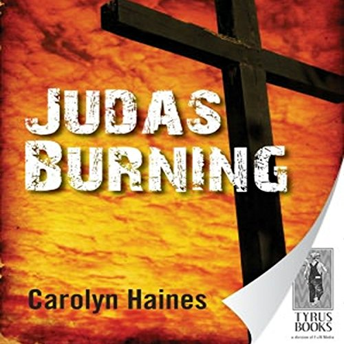 Judas Burning audiobook cover art
