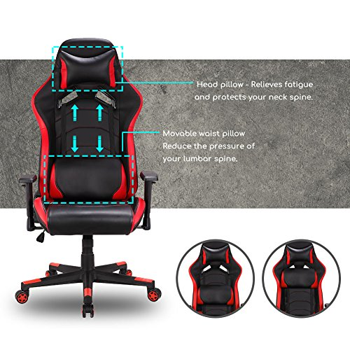 Gaming Stuhl Schreibtischstuhl Bild 3*