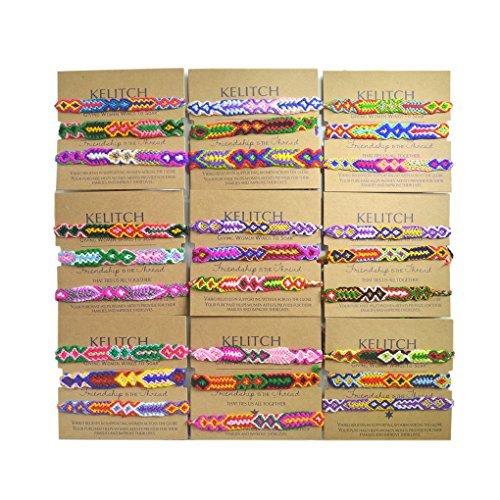 KELITCH 3 Stück Miyuki Perlen Strang Armbänder Handgemachte Freundschaft Armbänder Mode Kette Armbänder Armreifen Für Frauen (Blau)