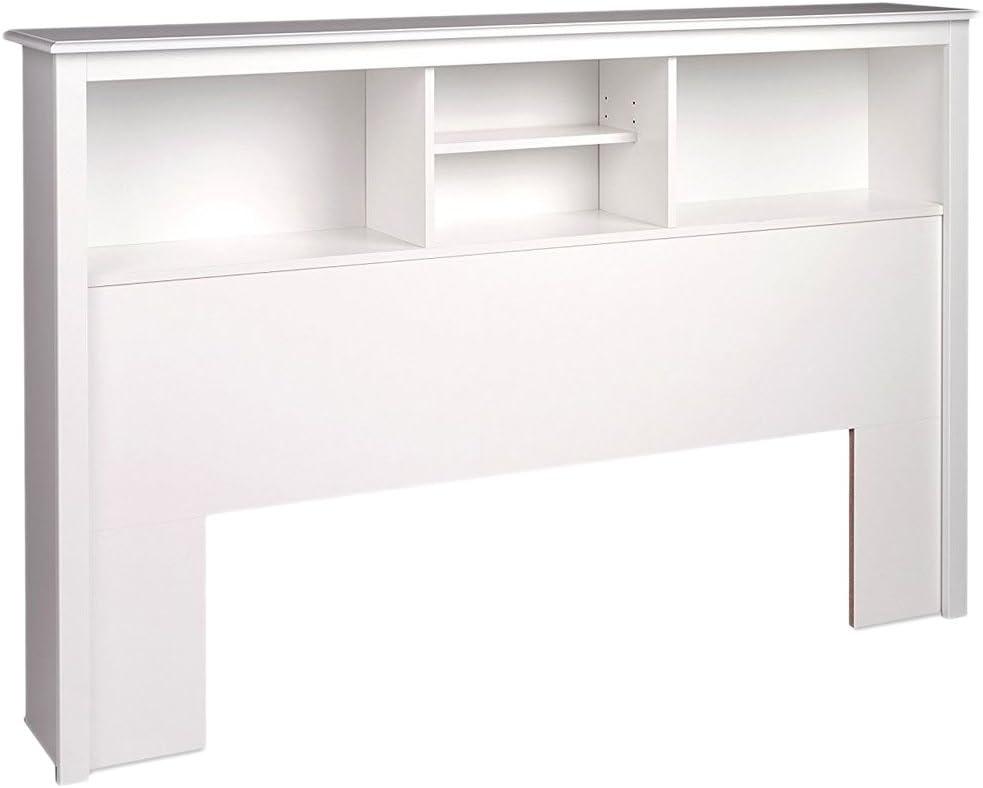 Prepac San Francisco Ranking TOP4 Mall Full Queen Headboard Bookcase White