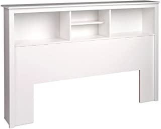 Best white bookcase headboard bed Reviews