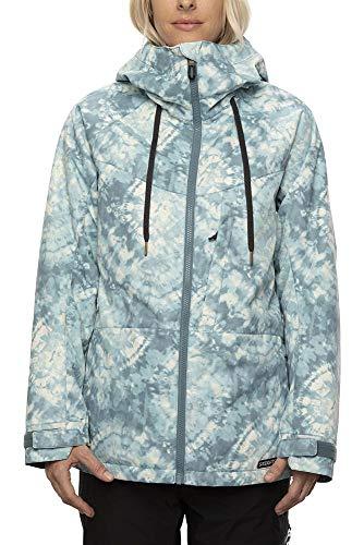 686 Women's Athena Insulated Jacket - Goblin Blue Woodstock, Small