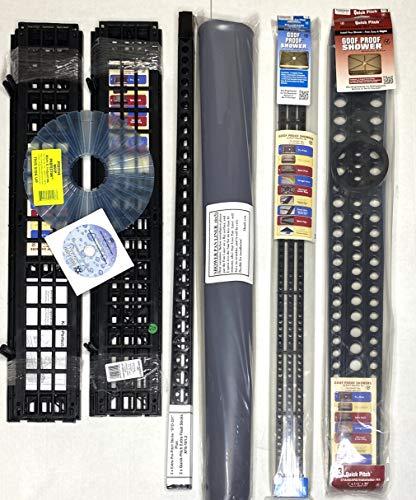 "Standard Shower Kit 6 in 1 with 2 – Extra Pre-Pitch Sticks ""STD-201"" + 2 Quick-Pitch Extra Float Sticks XFS-101.2 Sticks …"