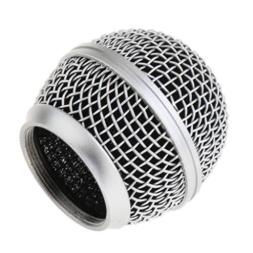 B Baosity Rejilla de Micrófono de Repuesto Diámetro Inferior 31 mm