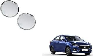 Autoladders Chrome Blind Spot Mirror Set of 2 for Maruti Suzuki Dzire