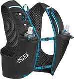 CamelBak Ultra Pro Vest Gilet, Mixte, Ultra Pro Vest, Black/Atomic Blue S, 0.5