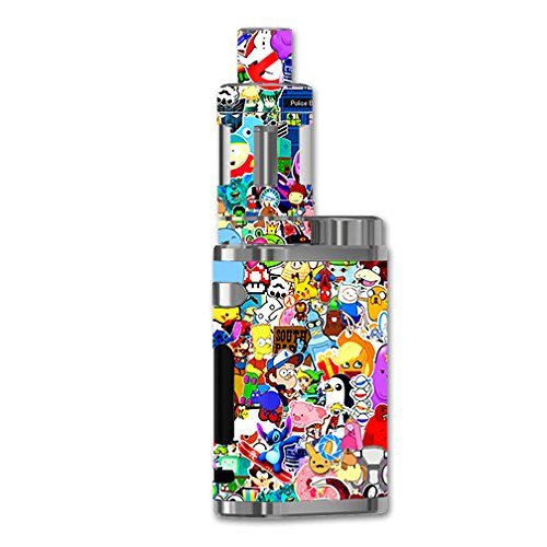 Skin Decal Vinyl Wrap For ELeaf IStick Pico 75w TC Vape Mod / Sticker Collage,sticker Pack