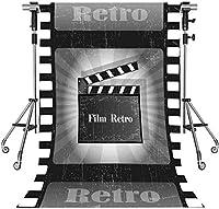 HD 会う5x7ftフィルムレトロな背景アヒルアシェンサンドビーチ写真背景テーマパーティー写真ブースYouTube Facebook背景GEMT1095