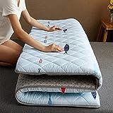 DJQ Colchón de Tatami japonés para Suelo, colchón de Suelo Tradicional, Plegable, cómodo, Transpirable, para el Suelo del hogar, para residencias B 150 × 200 cm (59 × 78 Pulgadas)