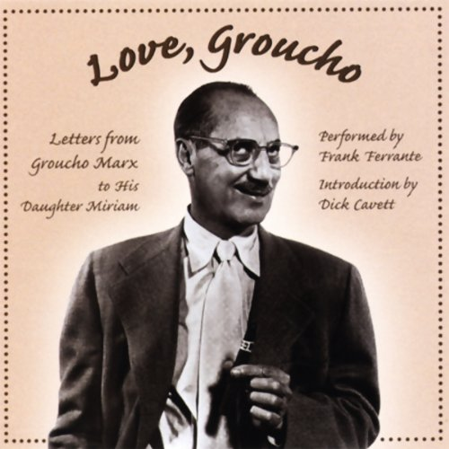 Love, Groucho audiobook cover art