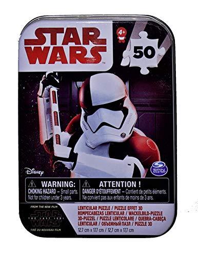Spin Master- Puzzle Star Wars 8 Episod Mini, Multicolore, 6038409