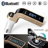 Boka Retails CARG7 Universal Wireless Bluetooth FM Transmitter in-Car FM Adapter Car Kit