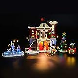 LIGHTAILING Set di Luci per (Creator Expert Winter Village Fire Station) Modello da Costruire - Kit Luce LED Compatibile con Lego 10263 (Non Incluso nel Modello)