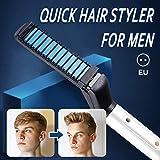 coflower Styler professionnel pour cheveux pour hommes, fer à friser, lisser le...