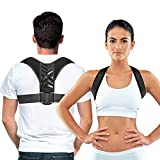 Easy to Adjust Posture Corrector for Men and Women - Improve Your Posture