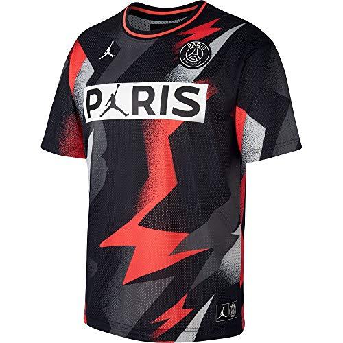 Desconocido Herren M J PSG Mesh Ss Top Unterhemd, Schwarz (Black/Infrared 23), XL