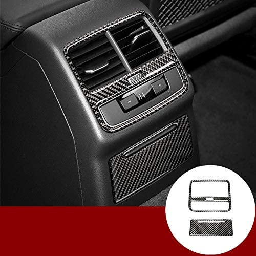 HOTRIMWORLD Carbon Fiber Inner Limited time sale Free shipping New Console Outlet Rear Air Vent Cove