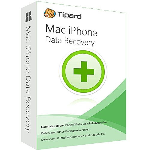 MAC iPhone Data Recovery 1 Jahr- Lizenz (Product Keycard ohne Datenträger)