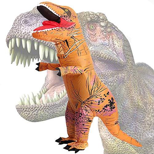 LUVSHINE Aufblasbares Kostüm für Erwachsene, Aufblasbares Dinosaurier Kostüm für Geburtstag, Halloween