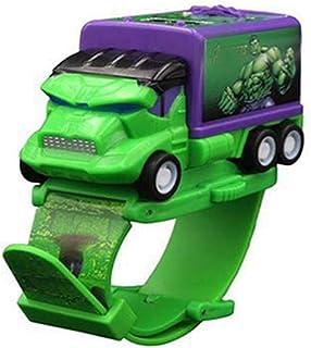 Orologio Bambino ZWRY Kids Watch Spidermans Children Watch Hulk Cartoon Projection Toys Orologio Girl Boys Regali di compl...