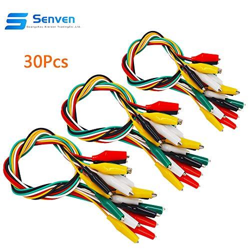 Senven®30 Pcs Cocodrilo Cable Puente