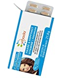 Vihado Vitamine für Haare & Kopfhaut –gegen Haarausfall – Haarwachstum anregen durch natürliches Silizium + Kieselsäure aus Ackerschachtelhalm + Hirse – Haarkapseln mit Biotin Zink Selen– 30 Kapseln