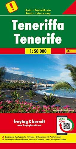 Teneriffa, Autokarte 1:50.000, freytag & berndt Auto + Freizeitkarten