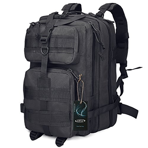 G4Free Tactical Shoulder Backpack Military Survival Pack Army Molle B0ug Out Bag Surplus Backpack 35L