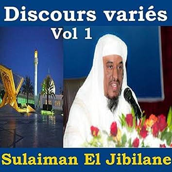 Discours variés, vol. 1 (Quran)