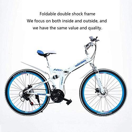 Qianqiusui Bicicleta de montaña, 26 '' de la Rueda Estructura Ligera de...