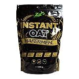 ZEC+ Instant Oats, feines Haferflockenpulver mit wertvollen Kohlenhydraten, 1000 g