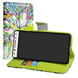 LiuShan Alcatel 5 case, Stand View Flip PU Leather Wallet