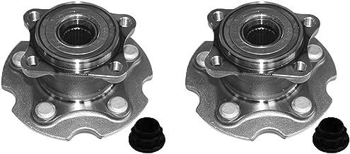 AutoDN 2pcs REAR Wheel Hub & Bearing Assembly for TOYOTA RAV4 2006-2012 4WD