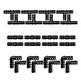 Smallrun 60Piezas Juego de Accesorios de Irrigación para Tubos Conectores por Goteo Kit de Accesorios de Riego para Tubos Kit Manguera Jardín Codo para Microtubo de Riego para Jardín Césped (60PC-3T)