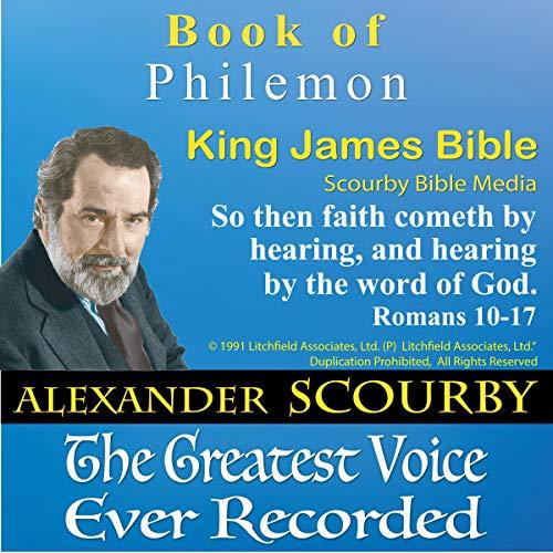 Book of Philemon, King James Bible cover art
