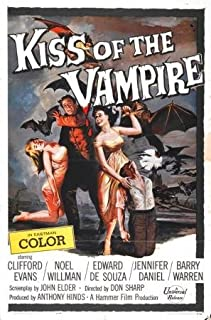 Kiss Of The Vampire Movie Poster 24x36