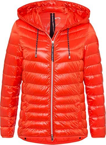 BRAX Damen Style Olbia Leichtdaunenjacke Jacke, ORANGE, 36