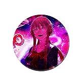 Mini Office Depot Anime japonés Mirai Nikki Broche Badge Set, Pin de botón de Dibujos Animados Accesorios para Ropa Sombrero Mochila Decoración(Style 10)