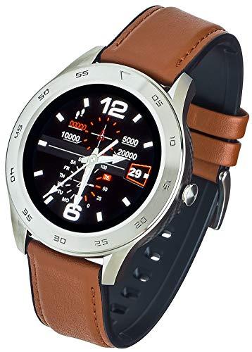 Garett Leder GT22S Smartwatch, hellbraune