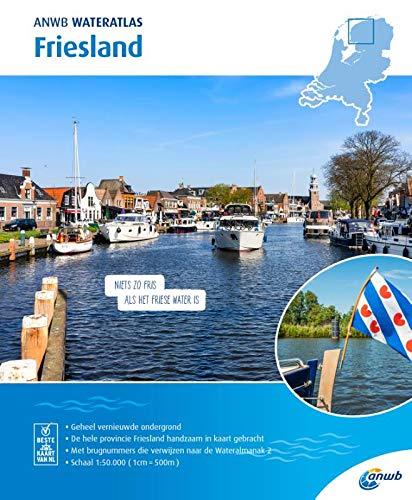 Wateratlas Friesland 1:50 000 (ANWB waterkaart)