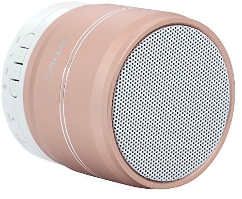 StilGut Powerful Sound - Bluetooth Lautsprecher (3 W) mit neuer Bluetooth Technologie 3.0 - kabellos für iPhone, BlackBerry, Samsung, Sony und weitere, Rosé Gold